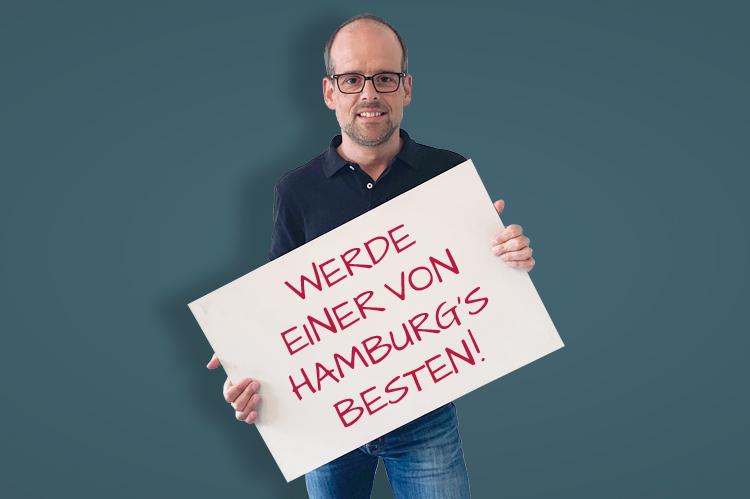 Werde einer von Hamburgs Besten!
